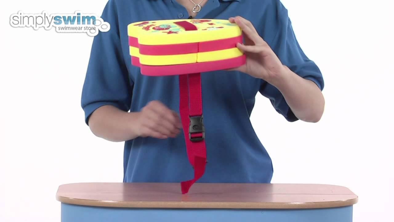 Zoggs Zoggy Back Float - www.simplyswim.com - YouTube c67ea34b6ef2