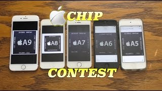 Apple's recent progression of processors are put to the test! From ...