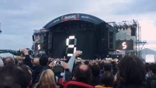Intro rammstein at download Festival 2016 in Paris - France.