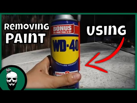 How To Remove Paint Overspray With WD 40