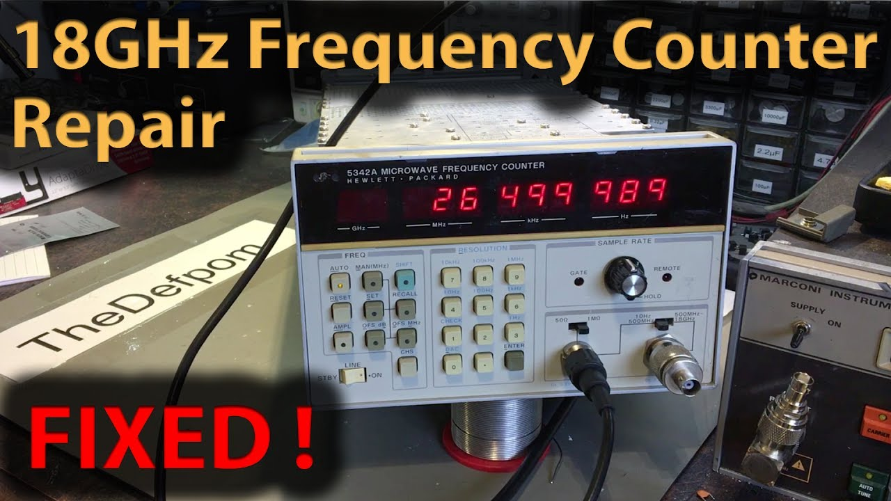 255 Hp 5342a 18ghz Microwave Frequency Counter Repair Unit 2
