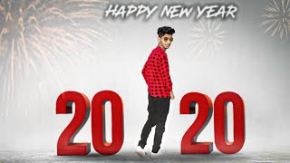2020 Happy New year Photo Editing tutorial in PicsArt Step by Step 2020