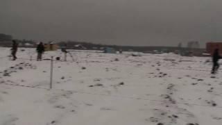 видео Геодезические работы в Подольске