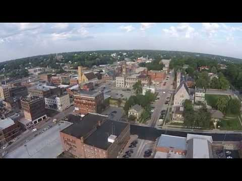 Burlington Iowa Aerial Nix Pix Video