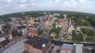 Burlington Iowa Aerial Nix Pix Video