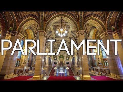 Budapest Parliament Building - Tour Inside HUNGARY