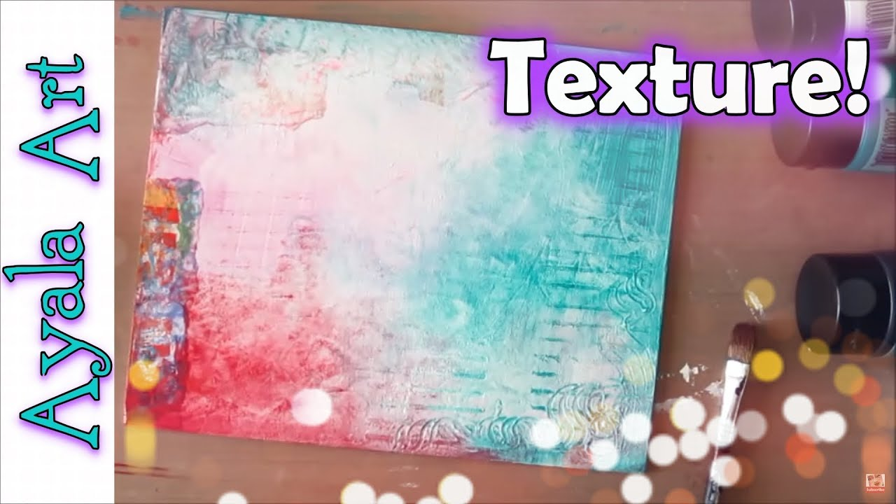 creating canvas art. Creating a Mixed Media collage canvas  How to add texture Art Collab Roberta Laliberte