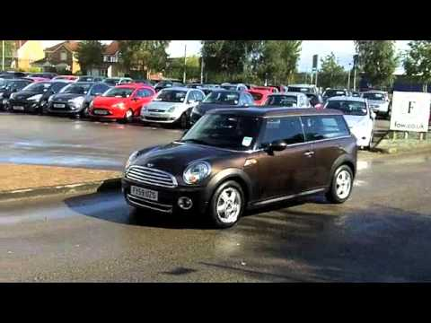 Mini Cooper Diesel Clubman Estate 2009 16 D 5dr Fy59uzs Youtube