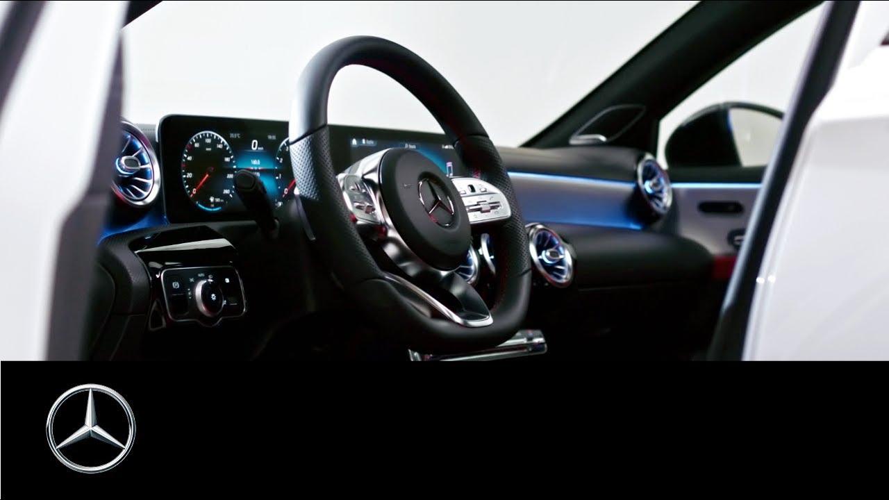 Mercedes Benz A Class 2018 In Car Office Youtube