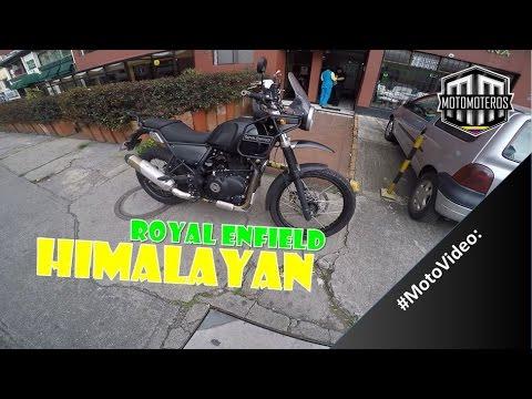 ROYAL ENFIELD HIMALAYAN #PrimerasImpresiones | Motomoteros