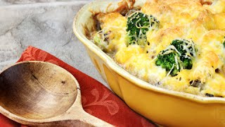 How To Make Broccoli, Rice And Cheese Casserole