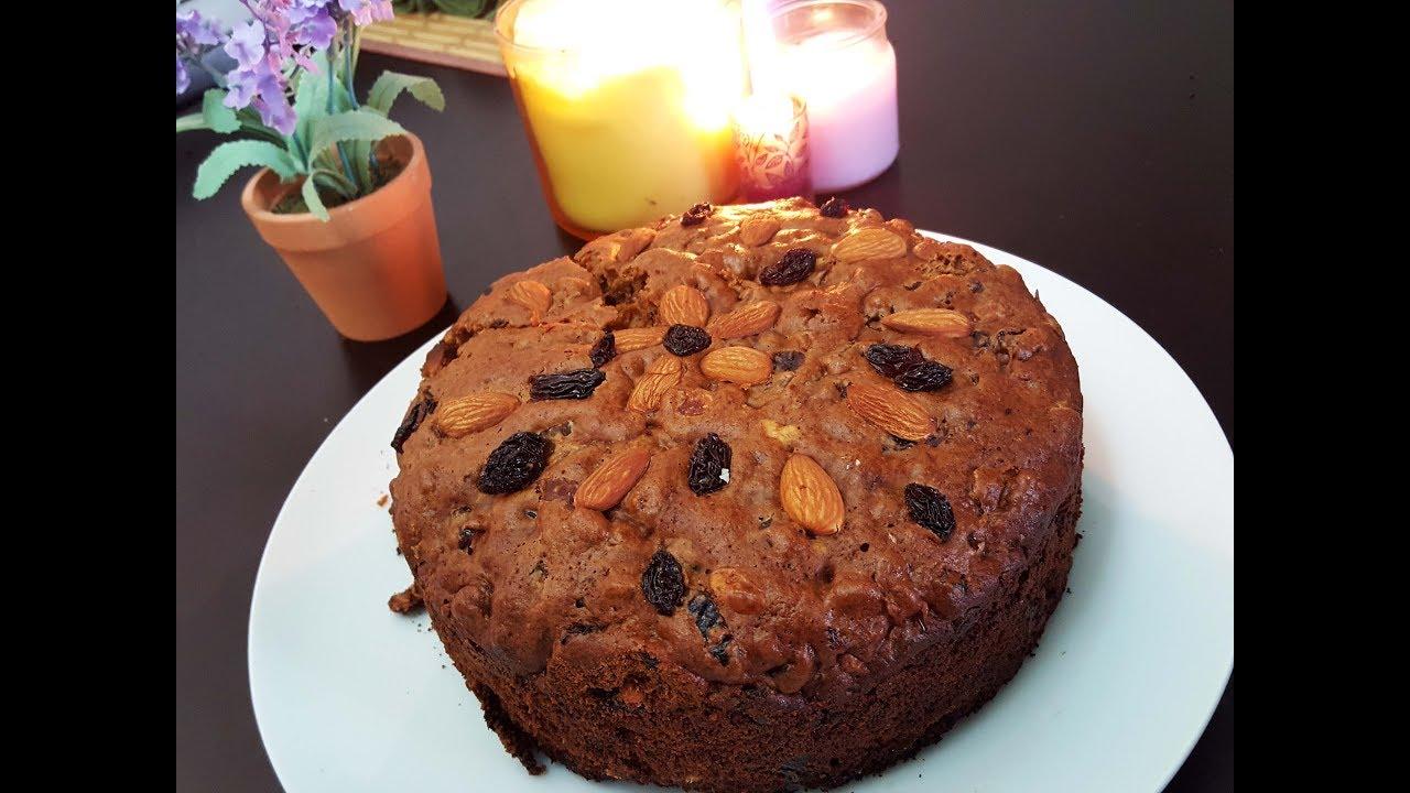 Cake Making In Pressure Cooker Malayalam: Christmas Fruit 'n Nut Cake
