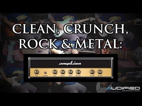 Clean, crunch, rock & metal: ampLion Pro by Audified