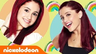 ariana grande 🎤 then now victorious sam cat nick