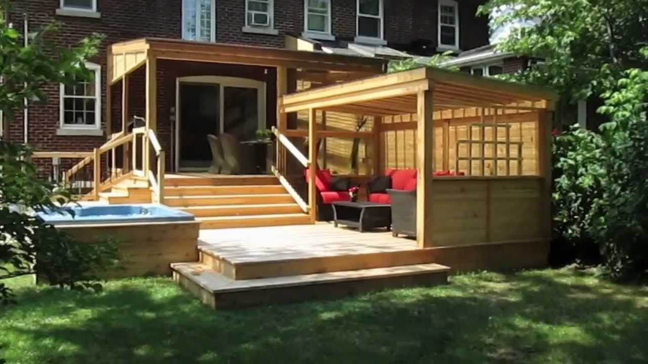 Design De Patios: Le Patio Piscine, Le Patio Terrasse, Le Patio Pour  Maison.   YouTube