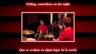 Glee - Dont stop believin / Sub spanish with lyrics
