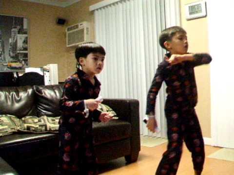 Just Dance Kids (Wii): Daniel vs Ace - Everybody Dance Now