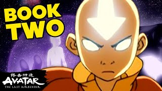 Aang's Journey in Book 2 - Earth ⛰  Avatar
