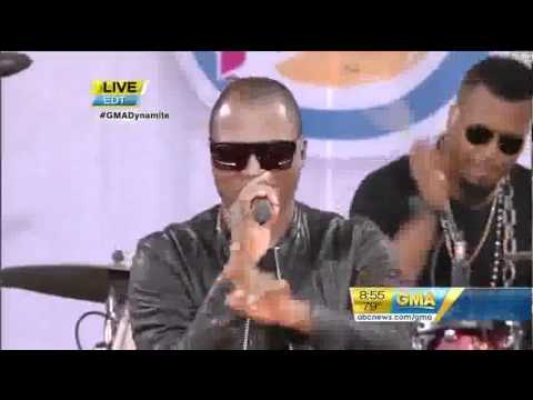 Taio Cruz   Break Your Heart live At Good Morning America