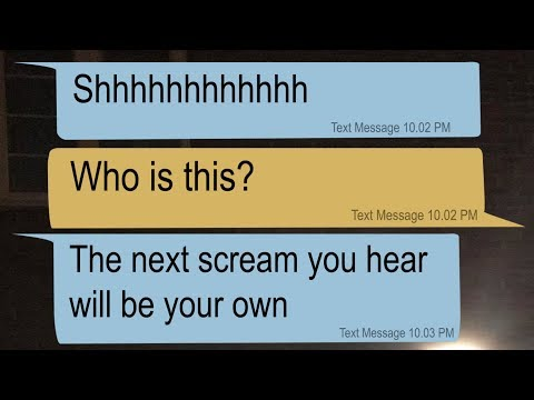 extremely creepy texts from the babysitter