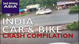 India car and bike crash compilation 1