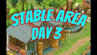 GARDENSCAPES NEW ACRES Gameplay Story Playthrough | Area 8 Stable Area Day 3