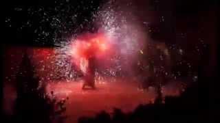 Огнненно-пиротехническое/фаер шоу на Новый год,Рождество.FIRE LIFE.Ужгород,Закарпатье(, 2015-01-31T13:04:42.000Z)