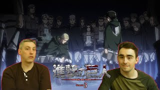 Law & Pops React to Attack on Titan 3x16 - 'Perfect Game' or Erwin's Finest Hour!