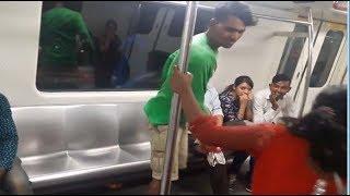 On cam:  Boy slaps girl in metro