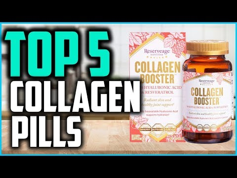 Best Collagen Pills For Women In 2019  Collagen Boosters