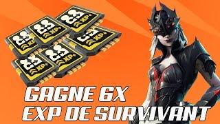 LIVE FORTNITE MAX XP SURVIVANT X4 4 ATALS PICS HARDIS 100 FORTNITE SAUVER THE WORLD PS4/FR HD