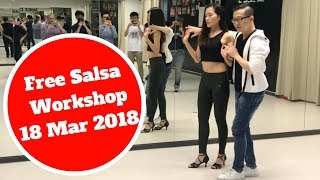 Free Salsa Workshop 18 March 2018 - SexyLatinDancing.com