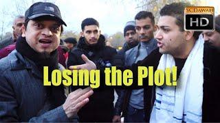 Losing the Plot! Mansur Vs Peter | Speakers Corner | Hyde Park
