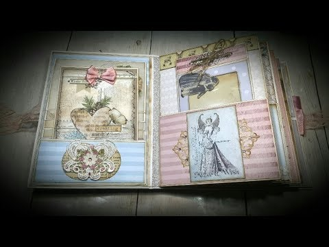 Tutorial #1  Candy Sweet Christmas Album ( Vectoria Designs project )