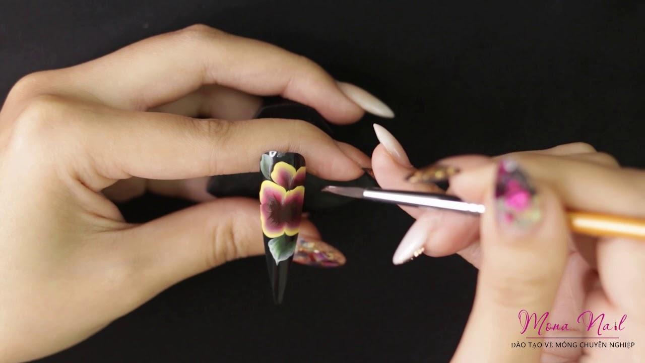 Dạy Vẽ Móng Tay Nghệ Thuật Cho Người Mới – Học Vẽ Móng   Mona Nail