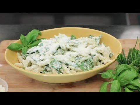 Recipe For Spinach Penne With Ricotta Cheese : Cooking With Ricotta