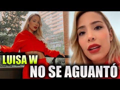 Luisa W Estalló - Se Enfureció Con Supuesta Vidente Por Hablar De Legarda
