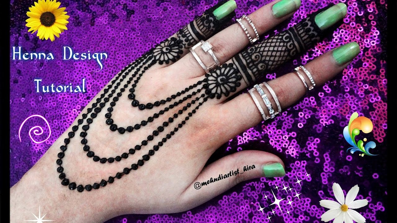 Diy Henna Designs How To Apply Easy Simple New Jewellery Mehndi