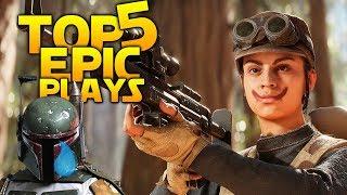JETPACK VS JETPACK: Battlefront 2 Top 5 Plays