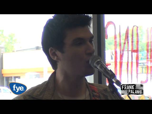 Break These Chains - Frank Palangi acoustic performance at FYE stores