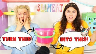 TURN THIS SLIME INTO THIS SLIME CHALLENGE! Slimeatory #589 Video
