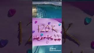 120,009 hearts on Tik Tok🎉🎉🎉 120k