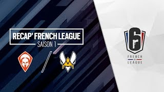 French League / Team Oplon vs Vitality - Saison 1 / Jour 1