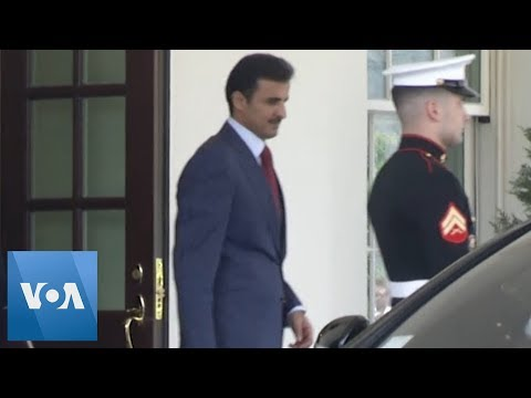 Qatar Emir Leaves White House Following Trump Meeting
