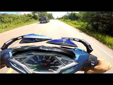 รีวิว TopSpeed Honda Click 125i 2016 ท่อลั่น YoshiMura งบ น้อยๆลั่นทุกอนู