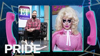 Exclusive: Trixie Mattel Talks 'Skinny Legend' & Third Album | ET CANADA PRIDE