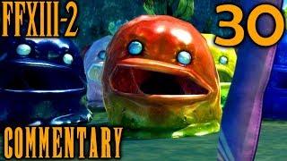 Final Fantasy XIII-2 Walkthrough Part 30 - Flan Mania & Academia Return (Sunleth Waterscape 400 AF)