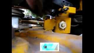 cub cadet mower belt coming off deck fix lt 1045 part 2