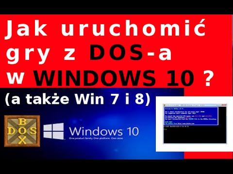 Jak uruchomić gry z DOS w Windows 10 (win 7, win 8)? - DOSbox - podstawowe komendy