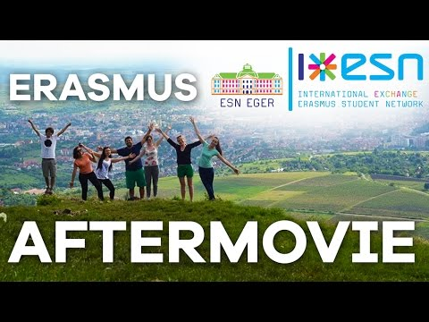 Erasmus Aftermovie -  Eger, Hungary (2015)